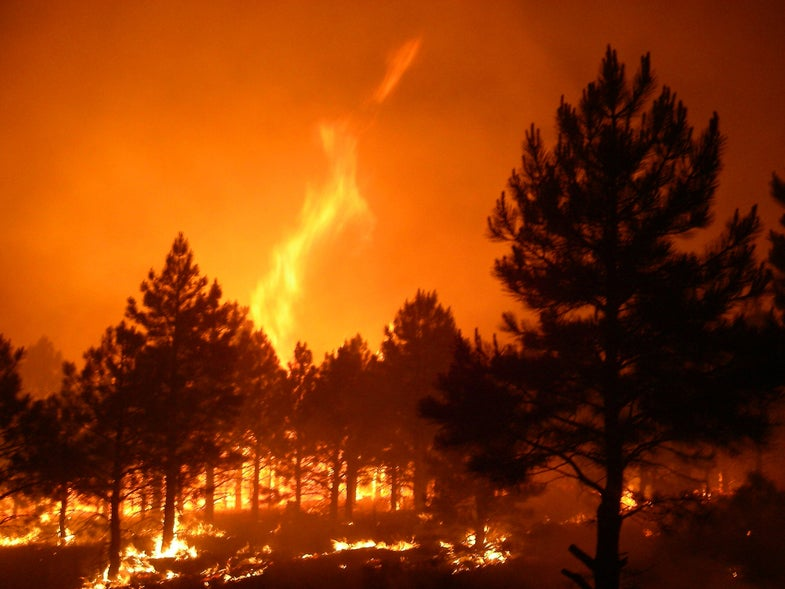 Smoke From Wildfires Could Intensify Tornadoes