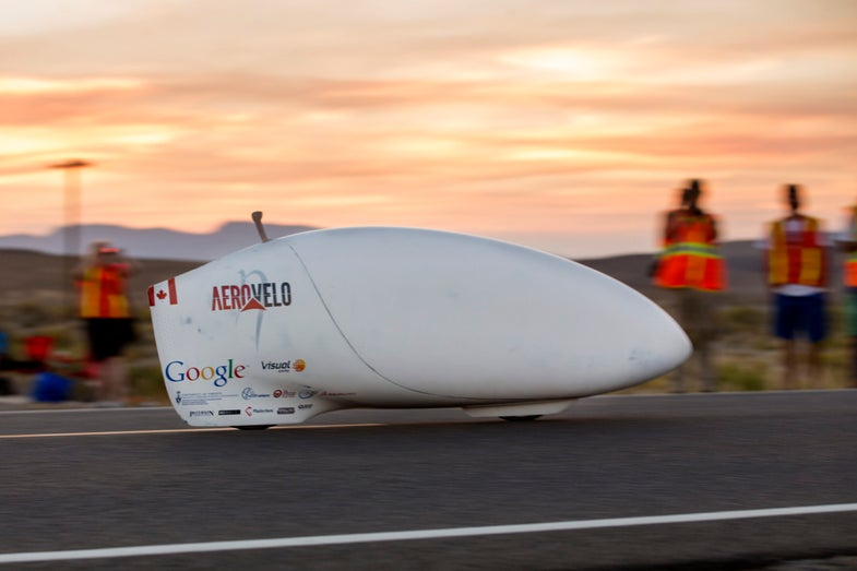 This Bike Is The World's Fastest Human-Powered Vehicle