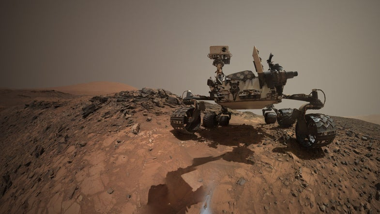 A Mars Rover's Selfie, An Eiffel Tower On The Sun, And Other Amazing Images of the Week