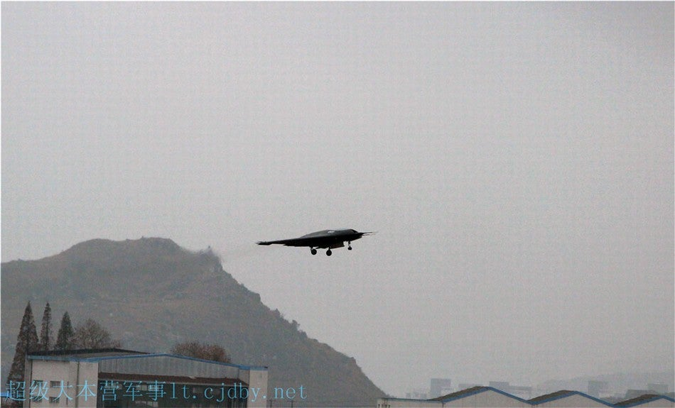 China Tests New Stealth Drone
