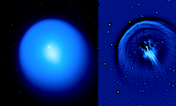 Astronomers Spot a Comet Giving Birth