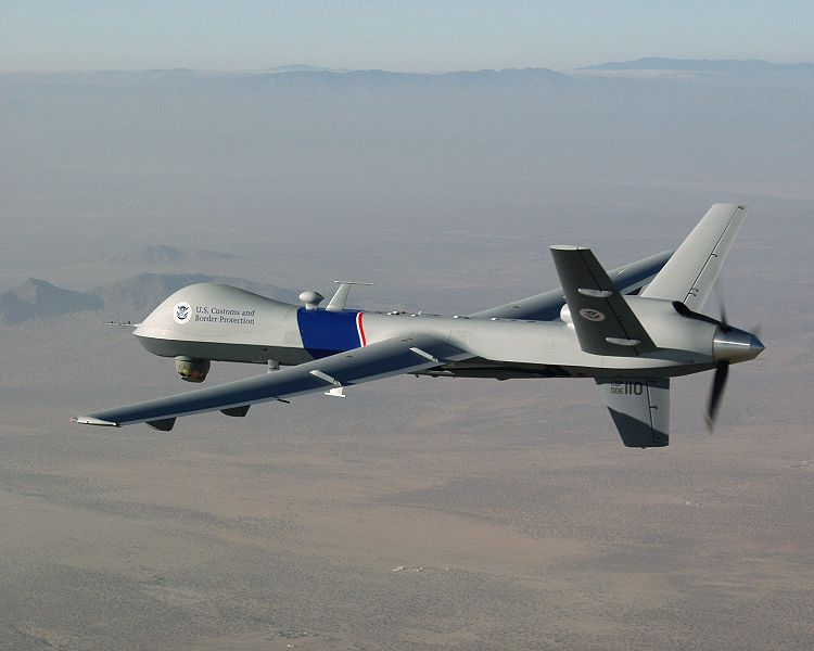 For the First Time, Predator Drones Participate in Civilian Arrests on U.S. Soil