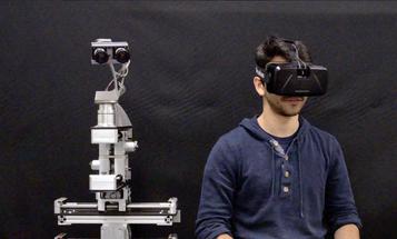 Oculus Rift and Robotic Heads: A Match Made In Geek Heaven