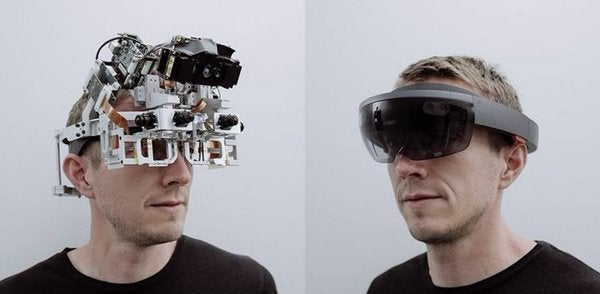 Check Out Microsoft's Jank Prototype For The HoloLens Headset