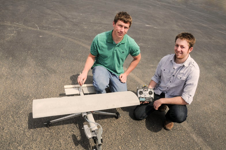 College Students Make First-Ever Successful Flight And Landing Of A Concrete Airplane