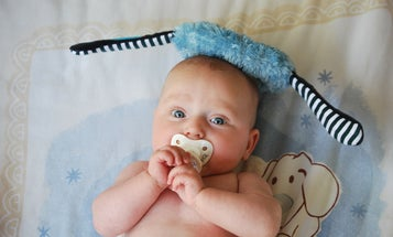 Cleaning your baby's pacifier with spit might have surprising benefits