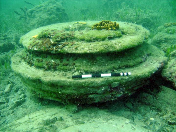 What scientists once thought was an ancient city underwater was actually made from microbes