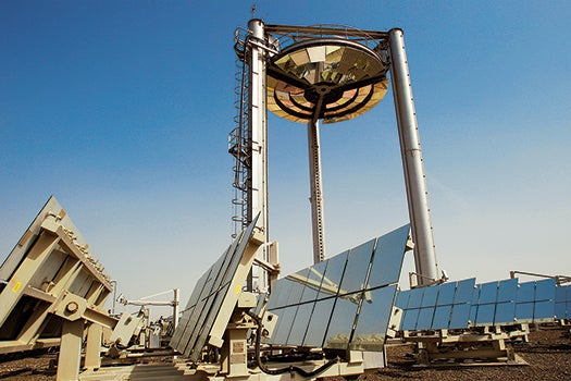 How It Works: Masdar's Beam Down Optical Tower