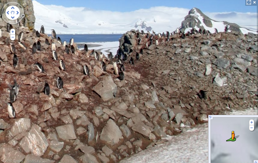 Google Street View Expands to Antarctica, Is Now on All Seven Continents