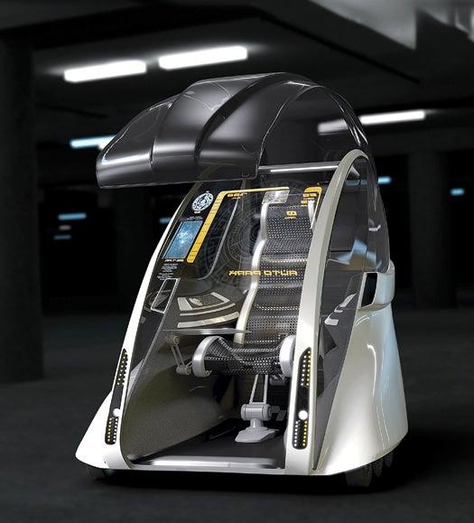 Future Drive Concept: The Robotic Commuter Pod