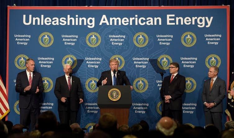 scott pruitt and trump unleashing american energy
