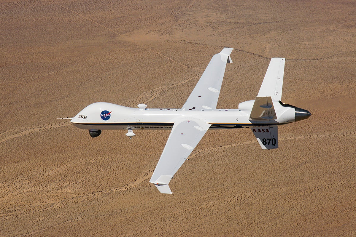 NASA Uses Drone To Find Orion Capsule In The Pacific