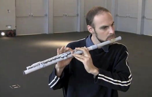 Video: MIT Media Lab Prints Out a Sweet-Sounding Flute with a 3-D Printer