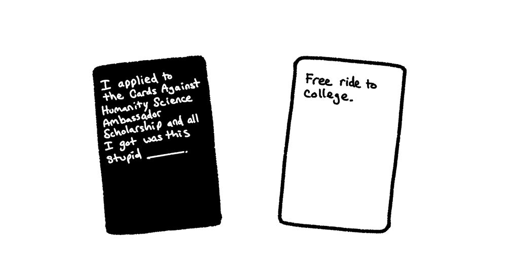 Cards Against Humanity scholarship seeks to send women in STEM to college