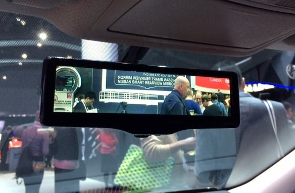 Smart Rear-View Mirror Sees Through The Stuff Piled In Your Back Seat