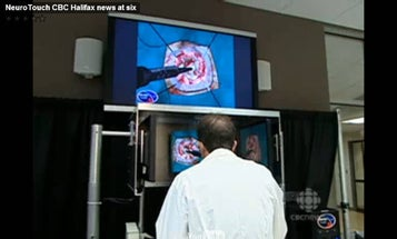 Neurosurgeons Practice on Virtual Simulator before Removing Brain Tumor