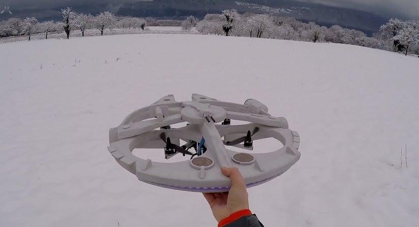 Hobbyist Turns Drone Into Millennium Falcon