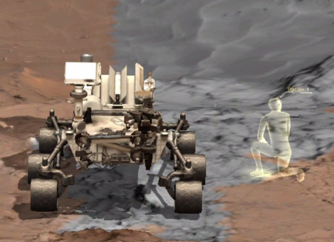We Took A Virtual Walk On The Martian Surface