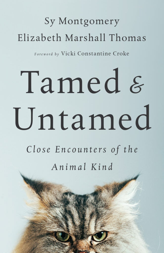 Book cover tamed and untamed