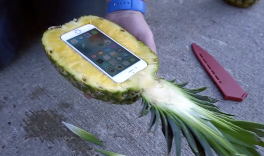 Do Pineapples Make Great iPhone Cases?