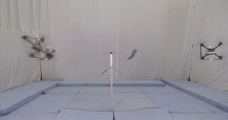 Testing Quadcopters