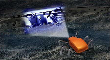 South Korea Developing Underwater Search-and-Rescue Robot Crawlers