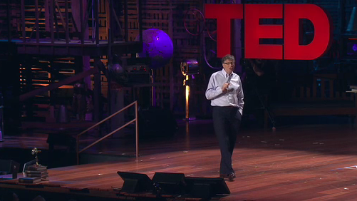 Bill Gates's 2010 TED Talk Now Online