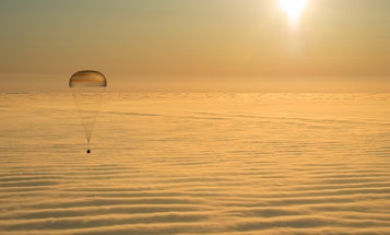 Returning Astronauts, Snowshoe Art, And Other Amazing Images Of The Week