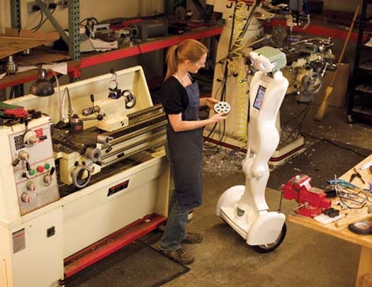 Robotic Surrogate Takes Your Place at Work