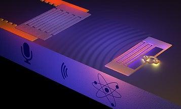 Like Sassy Teenagers, Atoms Talk Back