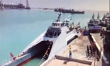 Iran Wants To Make Its Navy Seem More Powerful With This New Ship