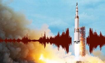 How The Noise Of Big Rockets Breaks Apart Buildings