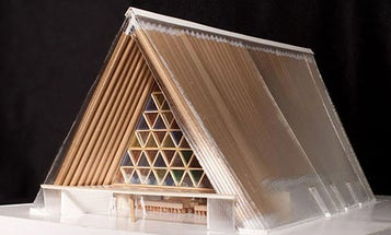 Christchurch is Thinking of Replacing Its Earthquake-Ravaged Church with a Cardboard Cathedral