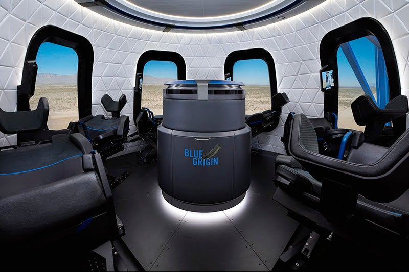 inside the new shepard crew capsule