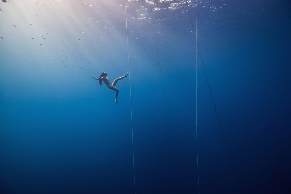 Scientists still don't understand how freedivers can survive such crushing depths