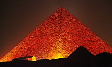 Muons And Drone-Mounted Lasers Probe For Secret Rooms In Egypt's Pyramids