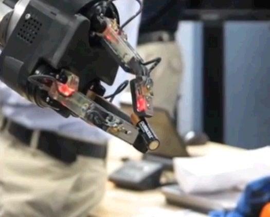 Watch A Super-Dexterous Robot Hand Use Tweezers