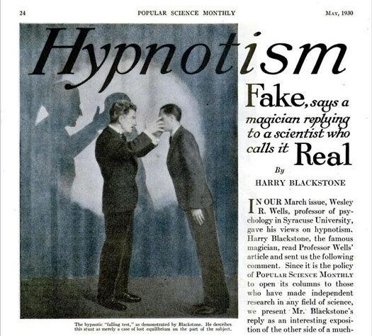 """Hypnotism"