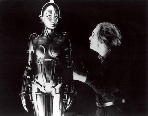The evil Maria robot