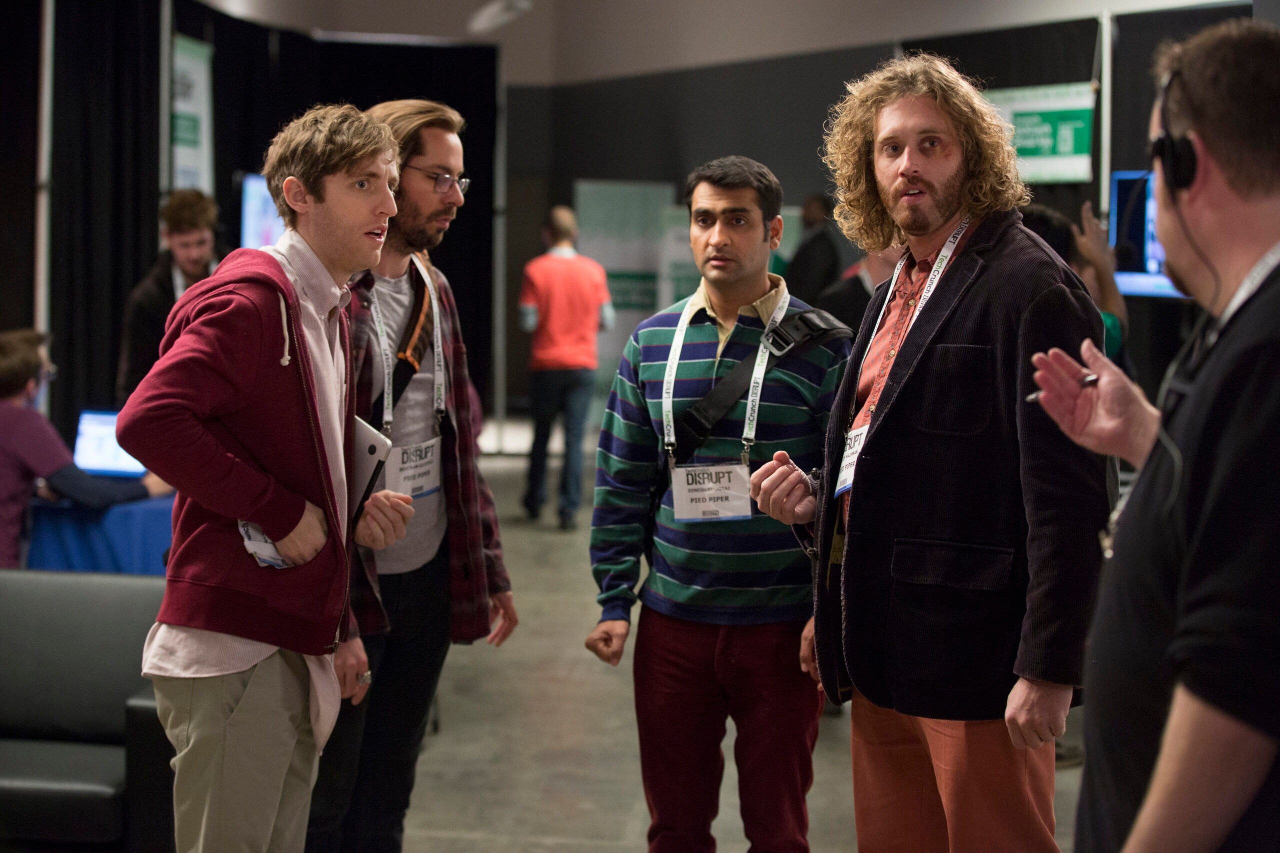 Behind the scenes Silicon Valley's showrunners deeply investigate programmer's annoyances.