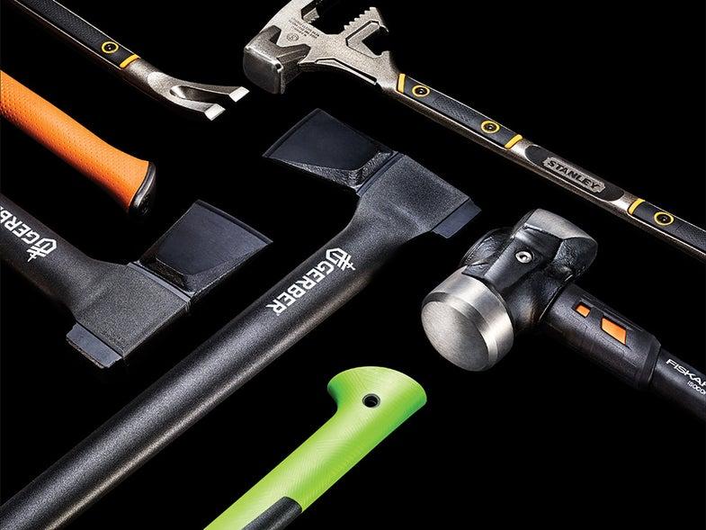 Three human-powered tools for maximum destruction