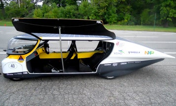 Solar Car Powers Your House When It's Parked