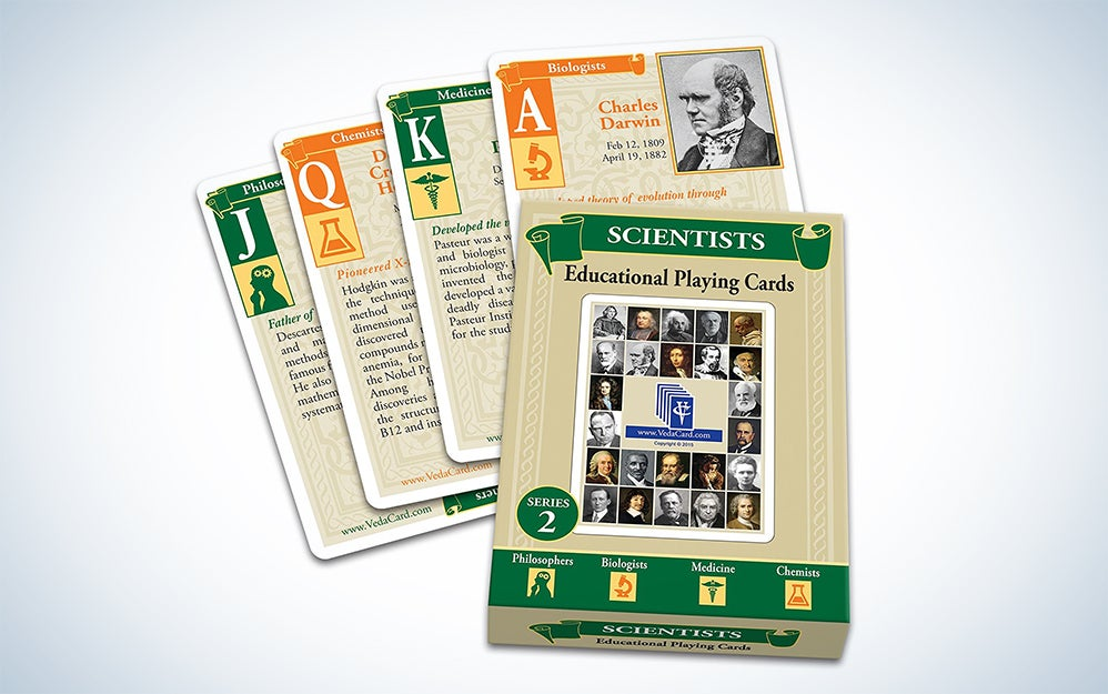 VedaCards Scientist playing cards