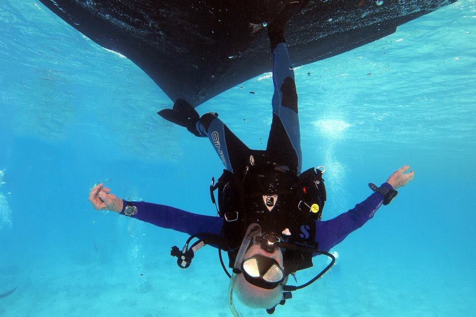 Partner Post: Enter This Auction To Win A Scuba Diving Trip with Buzz Aldrin