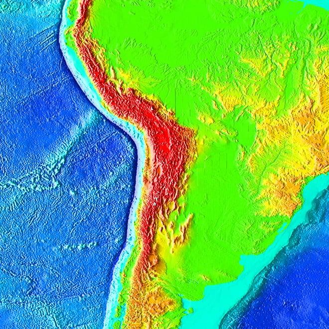 Atacama trench