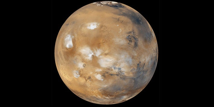 Scientists Create Martian Clouds On Earth