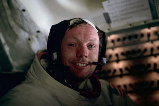Neil Armstrong Planned 'Small Step For Man' Line Months Before The Moon Landing