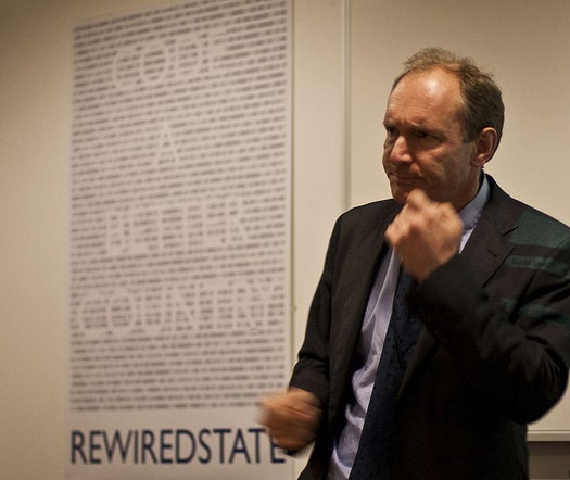 Tim Berners-Lee, Creator of the Web, Says Everyone In The World Deserves a Net Connection