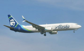Alaska Airlines just flew across the country using wood chips