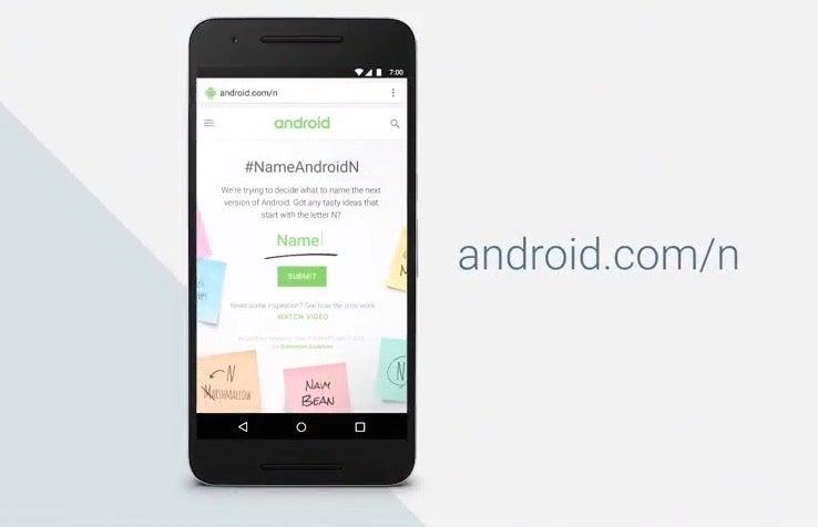 Google Showcases Android N At I/O 2016